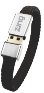 leather bracelet pen drive india