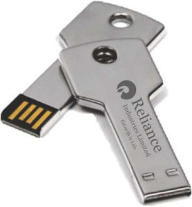 key shape pen drive India
