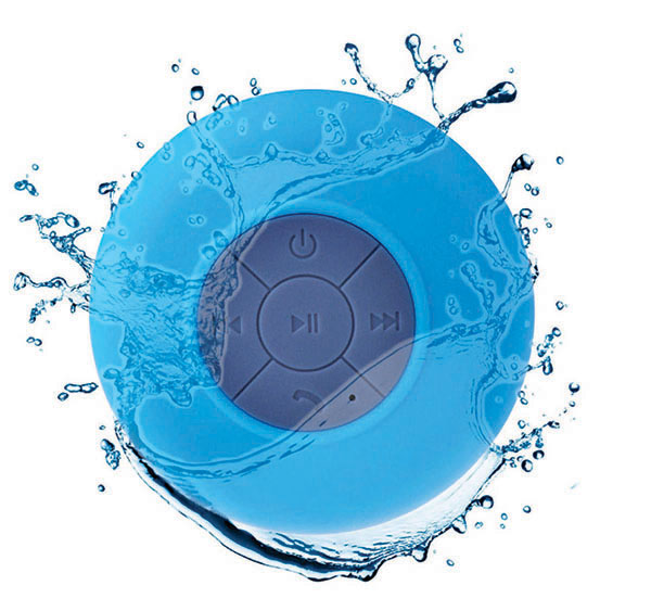 Xech Waterproof Shower Bluetooth Speaker