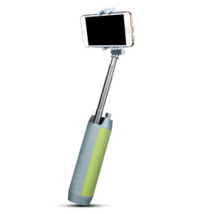 Xech Wireless Speaker with Selfie Stick and Power Bank