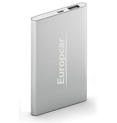 Xech Slim Metal Power Bank 4000 mAh