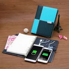 Xech Diary Power Bank with USB